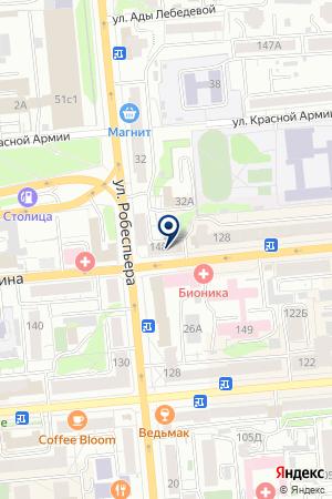 МАГАЗИН КЛИМЕНКОВА В.Н. на карте Красноярска