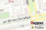 Схема проезда до компании Qiwi в Красноярске