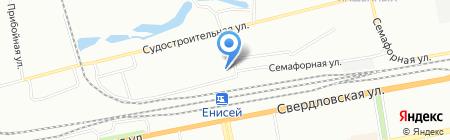 Губернские аптеки на карте Красноярска
