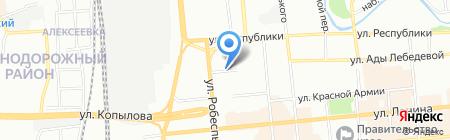 Вита на карте Красноярска