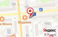 Схема проезда до компании Гуманитарные Технологии в Красноярске
