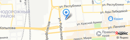 Детский сад №231 на карте Красноярска