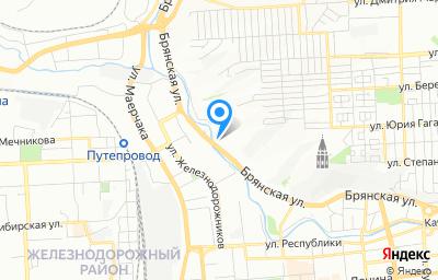 Местоположение на карте пункта техосмотра по адресу г Красноярск, ул Брянская, д 140