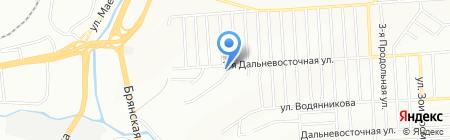 Слобода весны на карте Красноярска