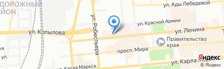 Свежие продукты на карте Красноярска