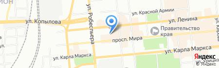 Квартал на карте Красноярска