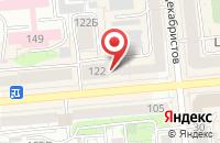 Схема проезда до компании Прогресс Инжиниринг в Красноярске
