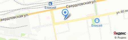 Красноярская (коррекционная) школа №4 для детей с ограниченными возможностями здоровья на карте Красноярска