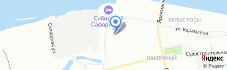 Детский сад №283 на карте Красноярска