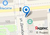 Управление Федерального казначейства по Красноярскому краю на карте