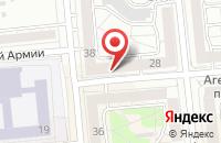 Схема проезда до компании Солнцеград в Красноярске