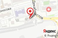 Схема проезда до компании Магистраль в Красноярске