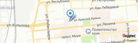 Цифраплаза на карте Красноярска