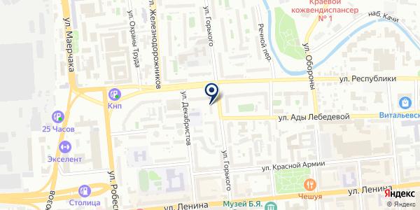 ТАЙМЫРПОЖСЕРВИС на карте Красноярске