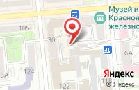 Схема проезда до компании Связьинвест-Медиа в Красноярске