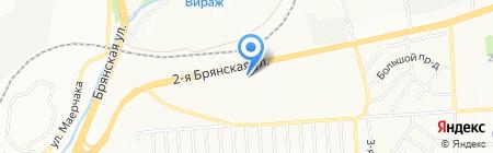 Краском сервис на карте Красноярска