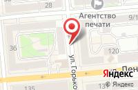 Схема проезда до компании Реставрация в Красноярске