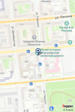 АПТЕКА № 5 на карте Красноярска