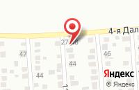 Схема проезда до компании Баттерфляй в Красноярске