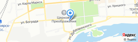 Школа аштанга йоги на карте Красноярска