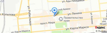 Абсолютмонтаж на карте Красноярска