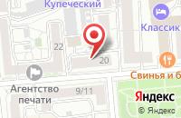 Схема проезда до компании Золотая пирамида в Иваново