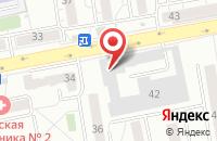 Схема проезда до компании Интеррастрой в Красноярске