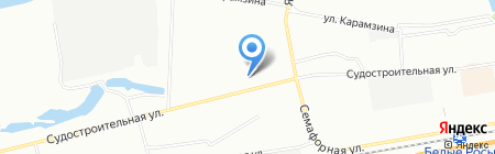 Альтаир на карте Красноярска
