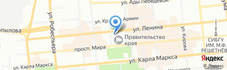 Министерство природных ресурсов и экологии Красноярского края на карте Красноярска