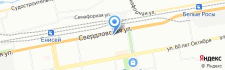 Открывашка на карте Красноярска