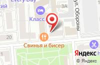Схема проезда до компании Научный Центр «Советское Содружество» в Красноярске