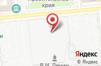 Схема проезда до компании Эраком в Красноярске