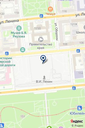 МЕДИЦИНСКАЯ СТРАХОВАЯ КОМПАНИЯ МЕДИКА-ВОСТОК на карте Красноярска