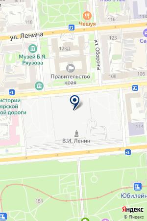 МАГАЗИН КОМПЬЮТЕРНОЙ ТЕХНИКИ ТЕХНОСЕРВИС на карте Красноярска