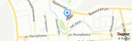 ФГК на карте Красноярска