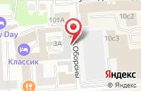 Схема проезда до компании Деловой Квартал-Красноярск в Красноярске