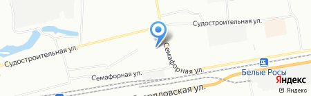 Ногти24 на карте Красноярска