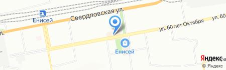 Mobil-on на карте Красноярска