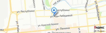 БРЕВНО на карте Красноярска
