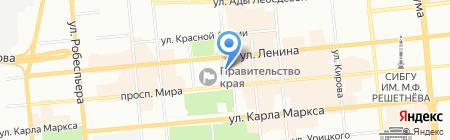 Удачный Выбор на карте Красноярска