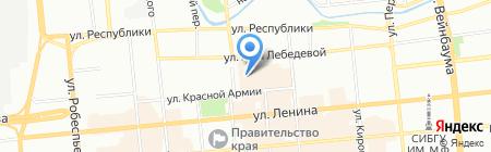 Банкомат КБ Кедр на карте Красноярска