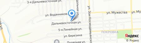 Средняя общеобразовательная школа №51 на карте Красноярска