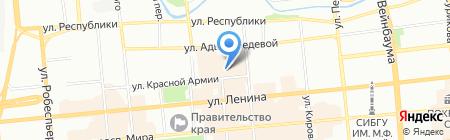 Мастерская по ремонту сумок кожаной и дублёной одежды на ул. Красной Армии на карте Красноярска