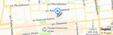 Baon на карте Красноярска
