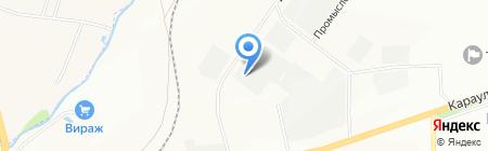 Техсервис-Хабаровск АО на карте Красноярска