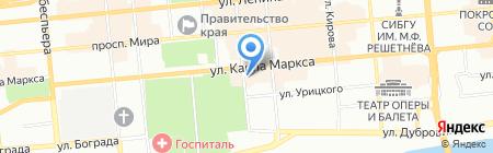Мода Мисс на карте Красноярска