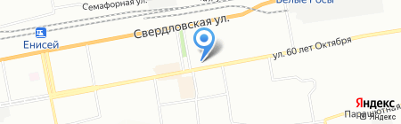 Детский сад №27 на карте Красноярска