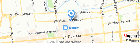Швейный клуб на карте Красноярска