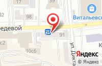 Схема проезда до компании Доро в Красноярске