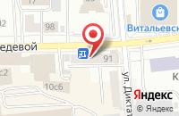 Схема проезда до компании Экостром-1 в Красноярске